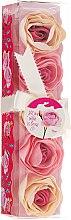 "Parfüm, Parfüméria, kozmetikum Fürdő konfetti ""Rózsa"", 5 db - Spa Moments Bath Confetti Rose"