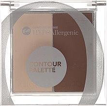 Parfüm, Parfüméria, kozmetikum Bőrvilágosító paletta - Bell HypoAllergenic Contour Palette
