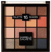 Parfüm, Parfüméria, kozmetikum Szemhéjfesték paletta - Gabriella Salvete Palette 16 Shades