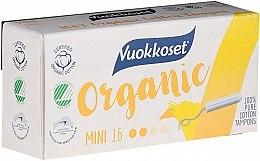 Parfüm, Parfüméria, kozmetikum Organikus tampon mini aplikátor nélkül, 16 db - Vuokkoset Organic Mini Tampons
