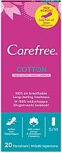 Parfüm, Parfüméria, kozmetikum Tisztasági betét illatosított, 20 db - Carefree Cotton Fresh Scent