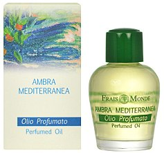 Parfüm, Parfüméria, kozmetikum Parfüm olaj - Frais Monde Mediterranean Amber Perfume Oil