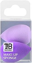 Parfüm, Parfüméria, kozmetikum Mini sminkszivacs, 2 db - Tools For Beauty Mini Concealer Makeup Sponge Purple