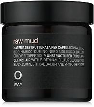 Parfüm, Parfüméria, kozmetikum Agyag hajra extra erős fixálással - Oway Man Raw Mud