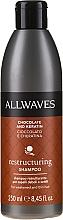 """Parfüm, Parfüméria, kozmetikum Sampon """"Csokoládé és keratin"""" - Allwaves Chocolate And Ceratine Restructuring Shampoo"""