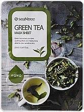 Parfüm, Parfüméria, kozmetikum Szövetmaszk zöld teával - Seantree Mask Sheet Green Tea