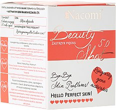 Parfüm, Parfüméria, kozmetikum Koncentrált arcszérum - Nacomi Beauty Shots Concentrated Serum 5.0