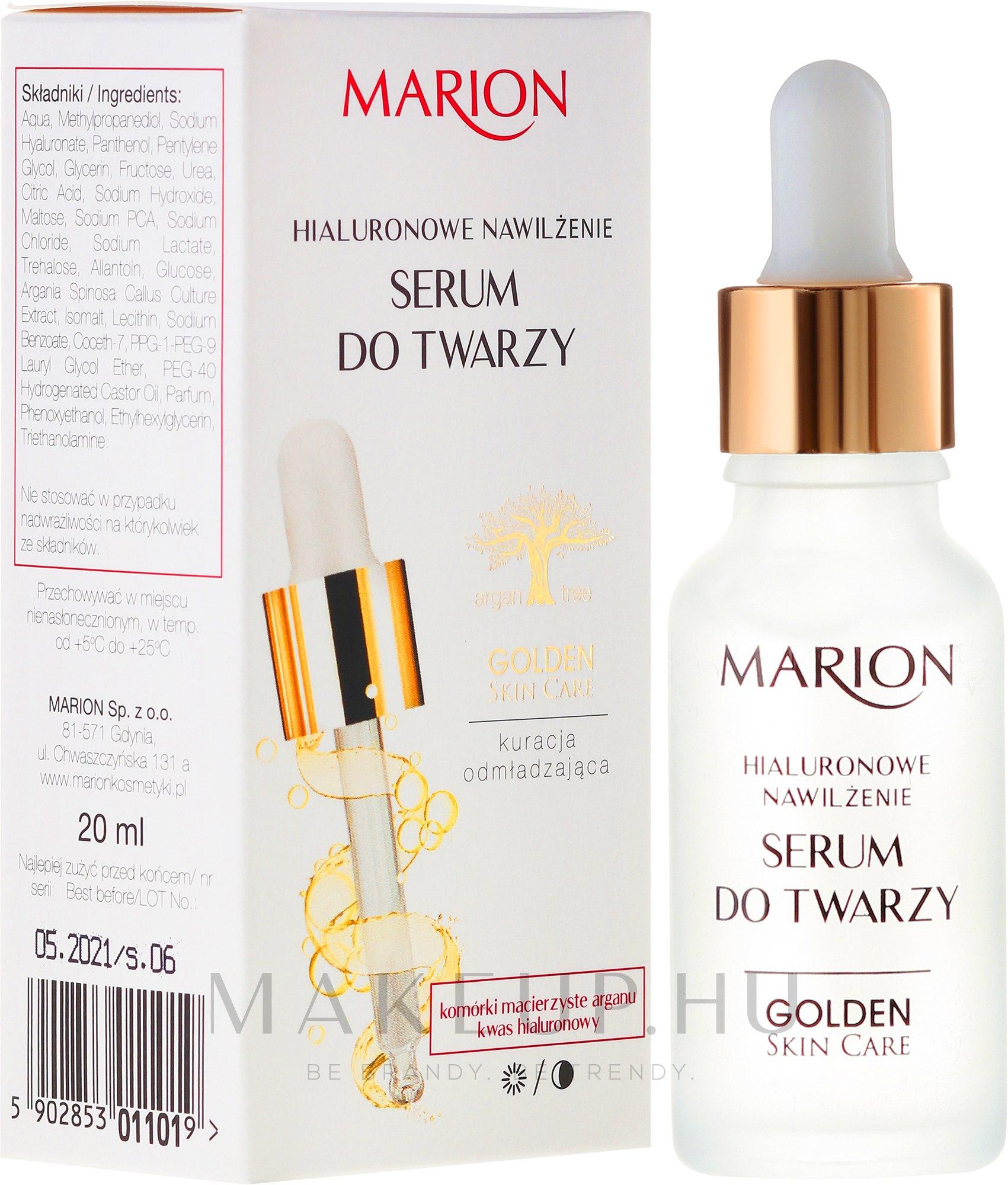 Szérum arcra, nyakra és dekoltázsra - Marion Golden Skin Care — fotó 20 ml