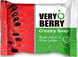 Parfüm, Parfüméria, kozmetikum Krémszappan - Very Berry Watermelon & Shea Butter