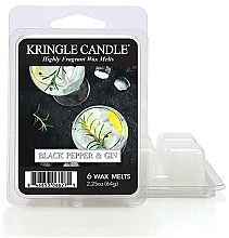 Parfüm, Parfüméria, kozmetikum Aromaviasz - Kringle Candle Wax Melt Black Pepper Gin