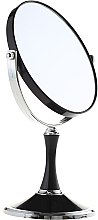 Parfüm, Parfüméria, kozmetikum Kétoldalas kozmetikai tükör, 85642, fekete - Top Choice