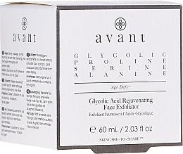 Parfüm, Parfüméria, kozmetikum Fiatalító arcpeeling glikolsavval - Avant Skincare Glycolic Acid Rejuvenating Face Exfoliator