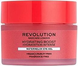 Parfüm, Parfüméria, kozmetikum Hidratáló gél szemkörnyékre dinnyével - Revolution Skincare Hydration Boost Watermelon Eye Gel