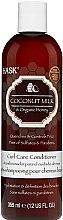 Parfüm, Parfüméria, kozmetikum Tápláló kondicionáló kókusz olajjal - Hask Coconut Milk & Organic Honey Curl Care Conditioner