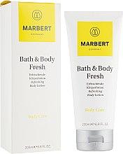 Parfüm, Parfüméria, kozmetikum Fiatalító lotion testre citrus illattal - Marbert Bath & Body Fresh Refreshing Body Lotion