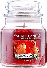 Parfüm, Parfüméria, kozmetikum Illatos gyertya pohárban - Yankee Candle Spiced Orange