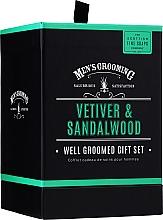Parfüm, Parfüméria, kozmetikum Scottish Fine Soaps Men's Grooming Vetiver & Sandalwood - Szett (edt/50ml + sh/gel/75ml + ash/balm/75ml)
