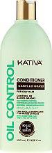 Parfüm, Parfüméria, kozmetikum Kondicionáló zsíros hajra - Kativa Oil Control Conditioner