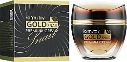 Parfüm, Parfüméria, kozmetikum Krém arannyal és csiga mucinnal - FarmStay Gold Snail Premium Cream
