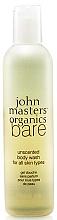 Parfüm, Parfüméria, kozmetikum Tusfürdő - John Masters Organics Bare Unscented Body Wash