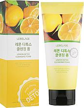Parfüm, Parfüméria, kozmetikum Citromos detox hab - Lebelage Lemon Detox Cleansing Foam