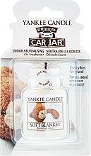 Parfüm, Parfüméria, kozmetikum Autóillatosító - Yankee Candle Car Jar Ultimate Soft Blanket