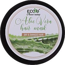 Parfüm, Parfüméria, kozmetikum Hajmaszk száraz és sérült hajra - Eco U Aloe Mask
