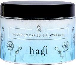 Parfüm, Parfüméria, kozmetikum Fürdőpúder búzavirággal - Hagi Bath Puder