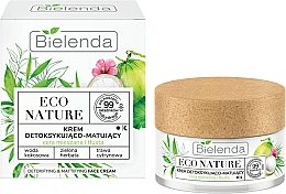 Parfüm, Parfüméria, kozmetikum Arckrém - Bielenda Eco Nature Coconut Water Green Tea & Lemongrass Face Cream