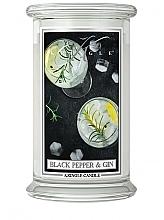 Parfüm, Parfüméria, kozmetikum Illatosított gyertya üvegben - Kringle Candle Black Pepper Gin