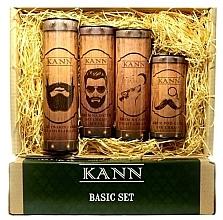 Parfüm, Parfüméria, kozmetikum Szett - Kann Basic Man (f/d/cr/50ml + f/n/cr/50ml+ f/gel/150ml + eye/cr/15ml)