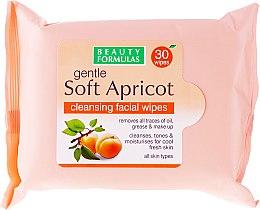 Parfüm, Parfüméria, kozmetikum Arctisztító törlőkendők - Beauty Formulas Gentle Soft Apricot Cleansing Facial Wipes
