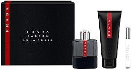 Parfüm, Parfüméria, kozmetikum Prada Luna Rossa Carbon - Szett (edt/100ml + sh/gel/100ml + edt/10ml)