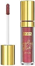 Parfüm, Parfüméria, kozmetikum Folyékony rúzs csillogó hatással - Pupa Sparkling Attitude Lip Fluid (Rose Gold Fever)