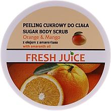 Parfüm, Parfüméria, kozmetikum Cukros testradír - Fresh Juice Orange and Mango