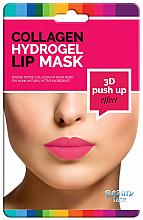 Parfüm, Parfüméria, kozmetikum Kollagén hidrogél ajakmaszk - Beauty Face 3D Push-Up Collagen Hydrogel Lip Mask