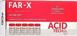 Parfüm, Parfüméria, kozmetikum Feszesítő arcszérum - Farmona Professional Acid Tech Far-X Extra Lift Proffesional Care