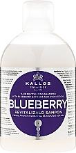 Parfüm, Parfüméria, kozmetikum Revitalizáló sampon áfonya kivonattal - Kallos Cosmetics Blueberry Hair Shampoo