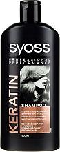 Parfüm, Parfüméria, kozmetikum Sampon száraz és élettelen hajra - Syoss Keratin Hair Perfection