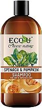 """Parfüm, Parfüméria, kozmetikum Sampon """"Tök és spenót"""" - Eco U Pumpkins And Spinach Shampoo"""