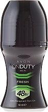 Parfüm, Parfüméria, kozmetikum Golyós izzadásgátló - Avon On Duty Men Fresh 48H Anti-persrirant Roll-On