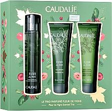 Parfüm, Parfüméria, kozmetikum Caudalie Fleur De Vigne - Szett (edt/50ml + sh/gel/50ml + lotion/50ml)