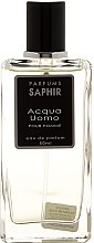 Parfüm, Parfüméria, kozmetikum Saphir Parfums Acqua Uomo - Eau De Parfum (teszter kupakkal)