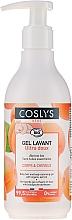 Parfüm, Parfüméria, kozmetikum Tisztító zselé gyermekeknek hajra és testre - Coslys Baby Care Baby Cleansing Gel-Hair & BodyWith Organic Apricot
