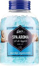 Parfüm, Parfüméria, kozmetikum Fürdősó, kék - Cari Spa Aroma Salt For Bath