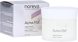 Parfüm, Parfüméria, kozmetikum Éjszakai ránctalanító krém - Noreva Laboratoires Alpha KM Night Cream Corrective Anti-Wrinkle Care