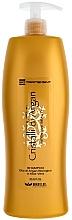Parfüm, Parfüméria, kozmetikum Hidratáló sampon argán olajjal - Brelil Bio Traitement Cristalli d'Argan Shampoo Intensive Beauty