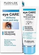Parfüm, Parfüméria, kozmetikum Szemkörnyékápoló krém érzékeny bőrre - Floslek Eye Care Mild Eye Cream For Sensitive Skin