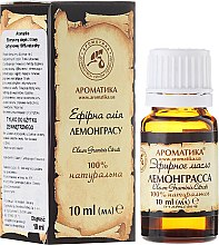 """Parfüm, Parfüméria, kozmetikum Illóolaj """"Citronella"""" - Aromatika"""