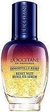 Parfüm, Parfüméria, kozmetikum Éjszakai olajos szérum - L'Occitane Immortelle Overnight Reset Oil-In-Serum